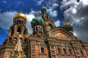 Church of Our Savior on Spilled Blood in Saint-Petersburg